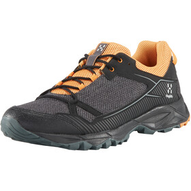 Haglöfs Trail Fuse Schoenen Heren, true black/desert yellow
